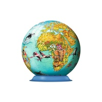 Ravensburger Children's Globe 3D puzzleball 108 pieces