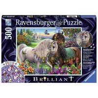 Ravensburger Adorned Stallions 500pc Brilliant Puzzle 14911
