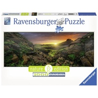 Ravensburger Sun Over Iceland 1000pc Panorama Puzzle 15094