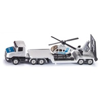 Siku Low Loader With Helicopter 1:87 scale diecast 1610