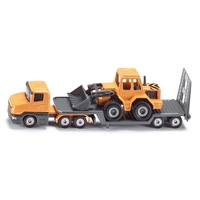 Siku Low Loader With Front Loader 1:87 Scale diecast 1616