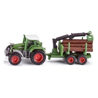 Siku Tractor With Forestry Trailer 1:87 1645