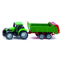 Siku Tractor With Universal Manure Spreader 1673