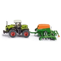 Siku Amazone Cayena Tractor With Seeder 1:87 Scale Diecast Vehicle 1826