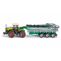 Siku Claas Xerion with Slurry Tanker 1:87 Scale 1827