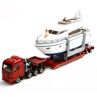 Siku Transporter with Yacht 1:87 Scale Diecast 1849