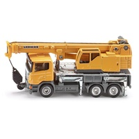 Siku Liebherr Telescopic Crane Scania Truck 1:87 Scale Diecast Vehicle 1859