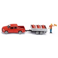 Siku VW Amarok Pickup with tipping trailer 1:55 scale 3543