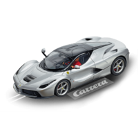 Carrera Digital 1:32 LaFerrari Aluminio Opaco Silver Slot Car