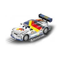 Carrera GO!!! Silver Max Schnell Electric Slot Car 1:43 Scale