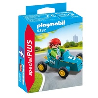Playmobil Boy with Kart 5382
