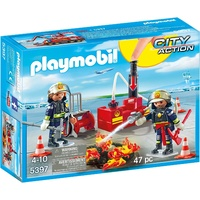 Playmobil Firefighting Operation with Water Pump 5397
