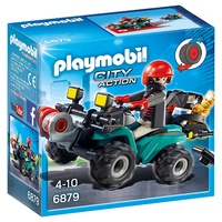 Playmobil Robbers Quad With Loot 6879