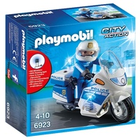 Playmobil Police Bike With LED Lights 6923