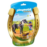 Playmobil Groomer With Star Pony 6970