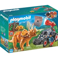 Playmobil Enemy Quad with Triceratops 9434