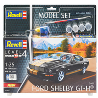 Revell 2006 Ford Shelby Mustang GT-H plastic model kit inc paint & glue 1:25 scale