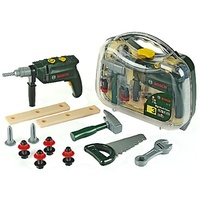 Bosch Big Work Case with Hammer Drill Toy Pretend Play