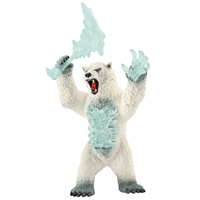 Schleich Eldrador Creatures Blizzard Bear with Weapon 42510