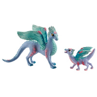 Schleich Bayala Flower Dragon and Baby 70592