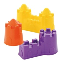 Sand Castle Forms set of 3