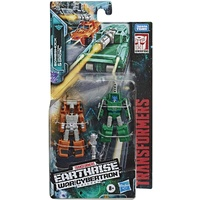 Transformers Earthrise Micromaster Bombshock & Decepticon Growl