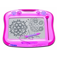 TOMY Megasketcher Pink magnetic drawing
