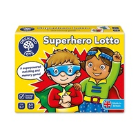 Orchard Toys Superhero Lotto Matching, Memory Game