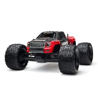 Arrma Granite Brushed Monster Truck Radio Control car R/C NiMH 2 Year warranty - Red