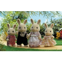 Sylvanian Families Milk Rabbit Family 4108