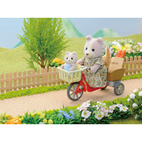 Sylvanian Families Cycling Mother & Baby 4281