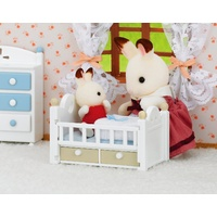 Sylvanian Families Chocolate Rabbit Baby Set 5017