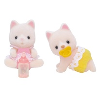 Sylvanian Families Silk Cat Twins 5082