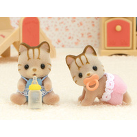 Sylvanian Families Striped Cat Twins 5188