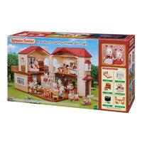 Sylvanian Families Red Roof Country Home Gift Set 5383
