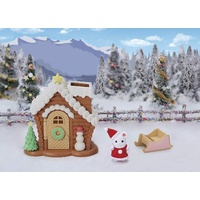 Sylvanian Families Gingerbread Playhouse Christmas Set 5390