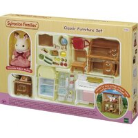 Sylvanian Families Classic Furniture Set 5392 (Red Roof)