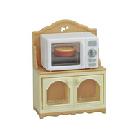 Sylvanian Families Microwave Cabinet 5443