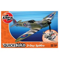 Airfix Quickbuild D-Day Spitfire plastic model kit
