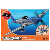 Airfix Quickbuild D-Day P-51D Mustang plastic model kit