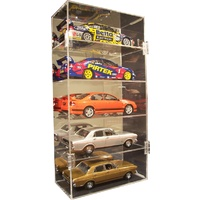 5 x 1:18 vertical acrylic display case Biante Classic Carlectable Autoart Bburago