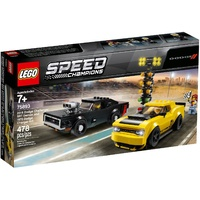 LEGO Speed Champions '18 Dodge Challenger SRT Demon & '70 Dodge Charger RT 75893