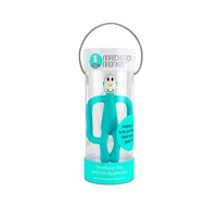 Matchstick Monkey Teething Toy and Gel Applicator - Emerald Green