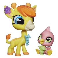 Littlest Pet Shop Pet Pawsabilities Pierre de Long & Sister Perez