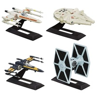 Star Wars Black Series Titanium Series 4 Vehicle & Stand Pack