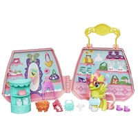 My Little Pony Fluttershy Purse Pet Care Playset