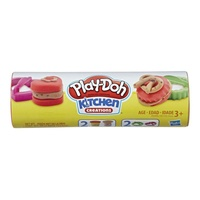 Play-Doh Kitchen Creations Cookie Canister Red & Brown