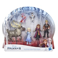 Disney Frozen 2 Adventure Collection Character Doll 5-Pack
