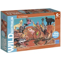 Blue Opal Wild Australia The Outback 100pc Puzzle 01977
