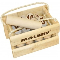 Molkky Original Outdoor Wooden Throwing Game from Finland